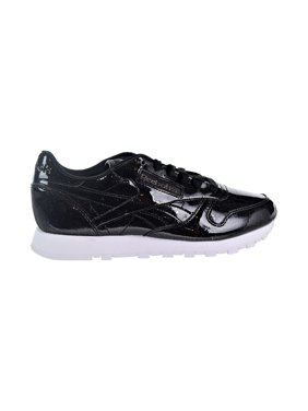 0d4c1691b5e Product Image Reebok CL Leather PP Patent Pearl Women s Shoes Pearl Black White  cn0875