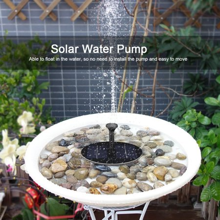 Ejoyous Solar Power Floating Fountain Water Pump for Garden Pond Pool Fish Tank, Water Pumps, Solar Water Pump - image 9 of 9