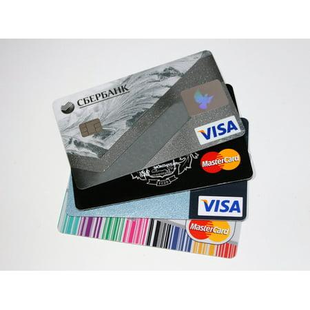 Laminated Poster Credit Card Banks Money Poster Print 24 X 36
