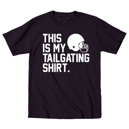 This Is My Tailgating Shirt Funny Football Sports - Mens T-Shirt