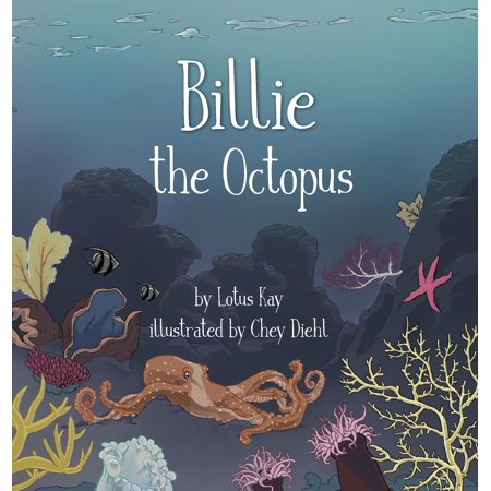 Billie the Octopus (Hardcover) Billie the Octopus invites you to explore the wonders of the ocean, become aware of the threats to it, and how you can make a difference.Lotus wrote More Beautiful Than Heaven when she was 16 to raise awareness about the beauty of nature and the Earth, the endangered state of wildlife and our environment, and ultimately inspire children to care for and protect the planet and our fellow inhabitants. She then wrote Billie the Octopus to educate kids about the beauty and importance of the ocean and protecting fish and marine life.Both books have stuffed animals that are characters in the book that can be found at the Bears for Cares website:  Beary  (the polar bear in More Beautiful Than Heaven) and  Billie  (the octopus), which support the Roots & Shoots program.For more information on the Bears for Cares campaign or to purchase the stuffed toys that accompany this book, visit www.bearsforcares.com.These books are printed on recycled, acid-free paper.A portion of the proceeds from both books will be donated to the Jane Goodall Institute and its Roots & Shoots program.About the AuthorLotus Kay is a teen writer. Her writings have been published in various publications such as Vegan Health & Fitness Magazine and Thrive Global. She is a recipient of a grant from Jane Goodall's Roots and Shoots program for her work creating an educational campaign called Bears for Cares to educate youth about endangered species and wildlife. She is the author of More Beautiful Than Heaven and Billie the Octopus, both in collaboration with Bears for Cares, to educate kids on the importance and beauty of nature, and motivate them to help protect the Earth.About Bears for CaresOn Endangered Species Day, Lotus Kay and her sister Jazmin teamed up with Hugg-A-Planet to launch the new Bears for Cares foundling collection of stuffed animals to raise awareness for their generation on the state of wildlife and endangered species worldwide. Bears for Cares donates a por