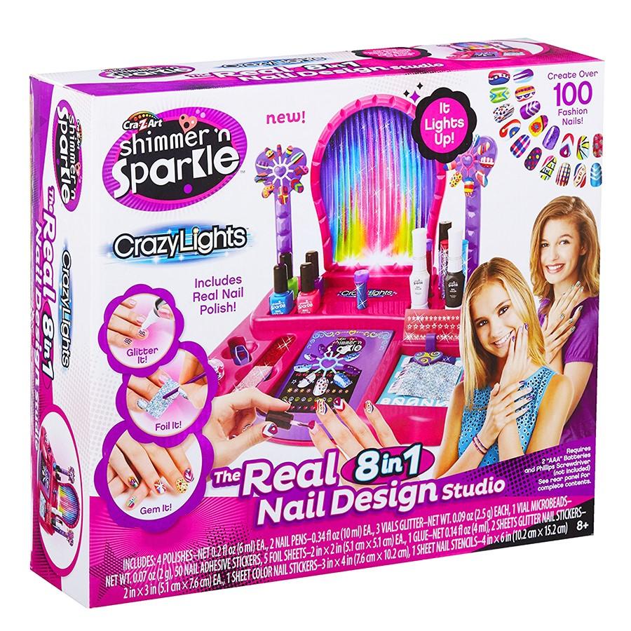 Cra-Z-Art Light-Up Super Nail Salon