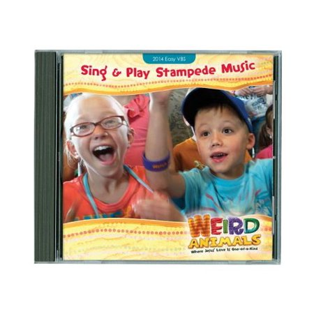 1 X VBS-Disc-Weird Animals-Sing & Play Stampede, Group Publishing By Group - Group Vbs 2017