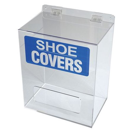 Condor 30ZE63 Clear Acrylic Shoe/Boot Cover (Shoe Cover Dispenser)