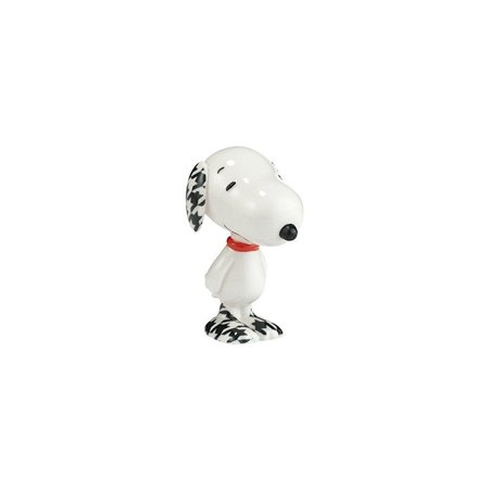 Department 56 Peanuts Hounds Tooth Figurine, 3 inch