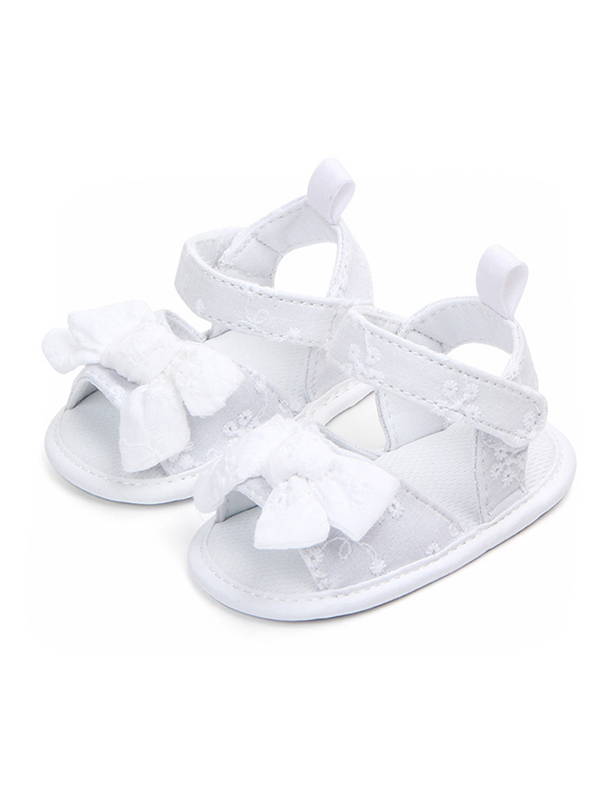 baby girl sandals walmart Baby Supplies product image funcee fashion cotton bow princess sandals for newborn baby girls baby shoes