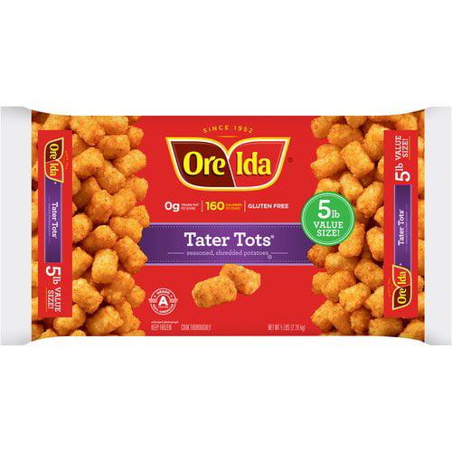Ore-Ida Family Pack Tater Tots, 5 lb