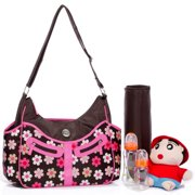 Colorland Vicky Hobo Diaper Bag, French Flower