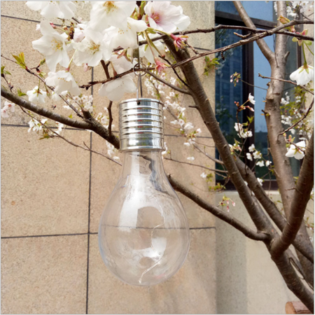 Solar Energy Courtyard Lawn Light Led String Light Bulb Outdoor Creative Decorative Lamp For Garden  Patio Wedding And Party Yellow Light