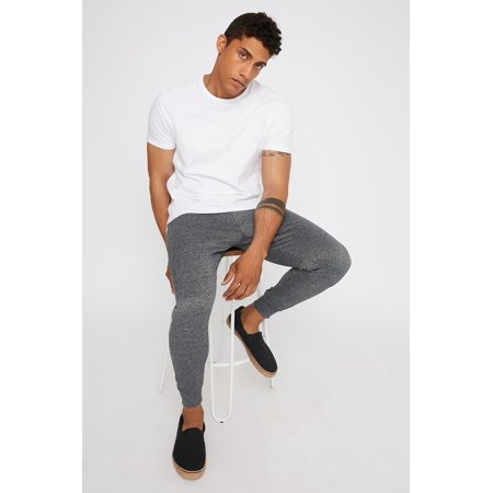 Urban Planet Men's French Terry Jogger - image 3 de 3