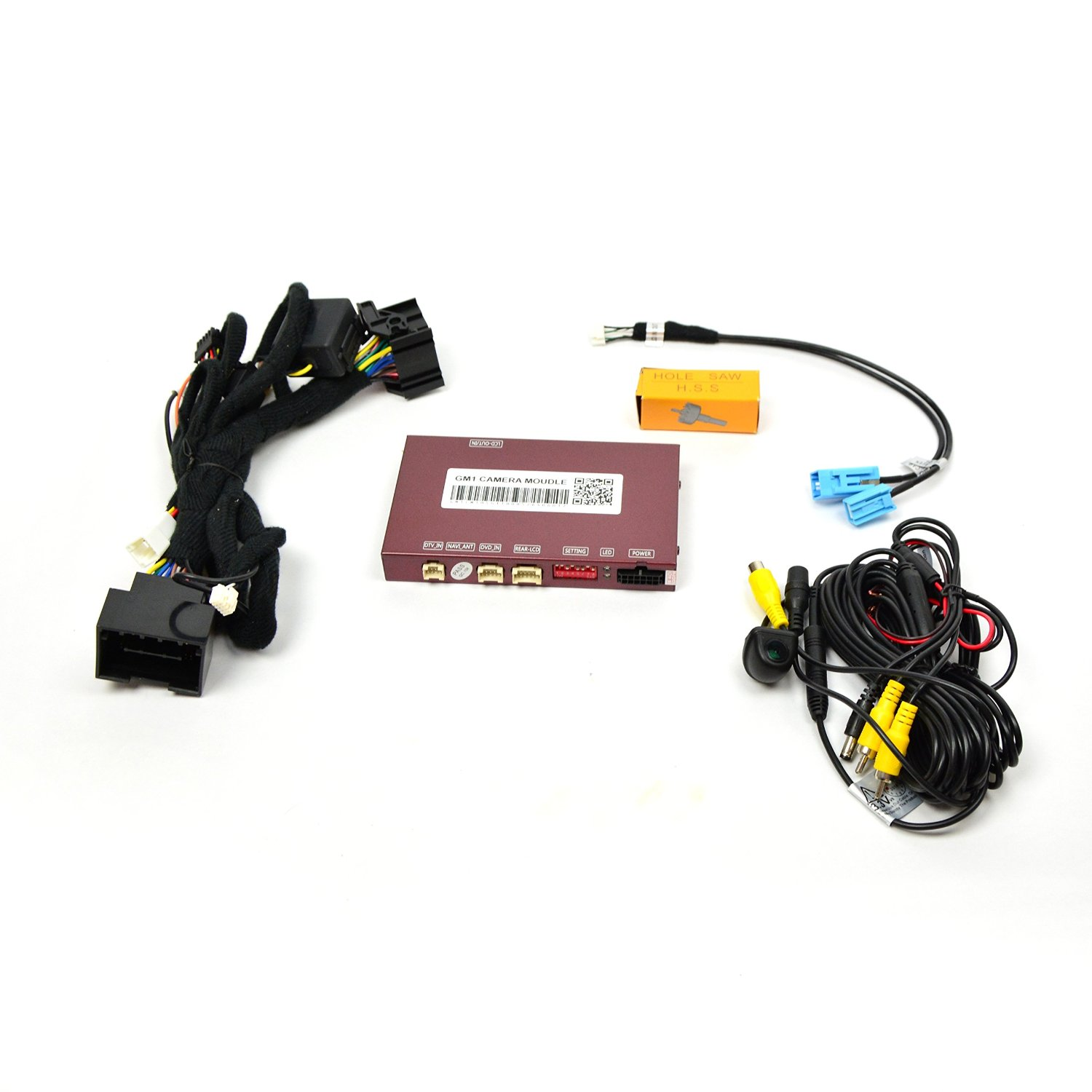 Brandmotion 9002-7760 GM Rear Vision System For Factory Display Radios With Parklines Camera