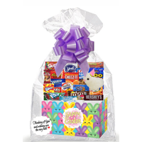 Happy Easter Thinking Of You Cookies, Candy & More Care Package Snack Gift Box Bundle Set - Arrives in 3-4Business Days