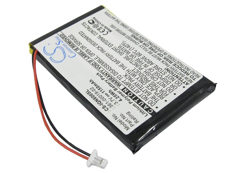 1150mAh Li-PL GPS Battery For Garmin Nuvi 600, Nuvi 610, Nuvi 610T