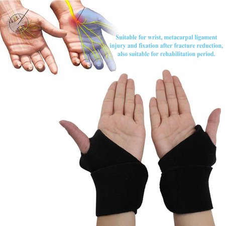 (Breathable Soft Sport Wristbands Wrist  Support Brace Fracture Ligament Injury Fixation, Arm Support, Wrist Barace)