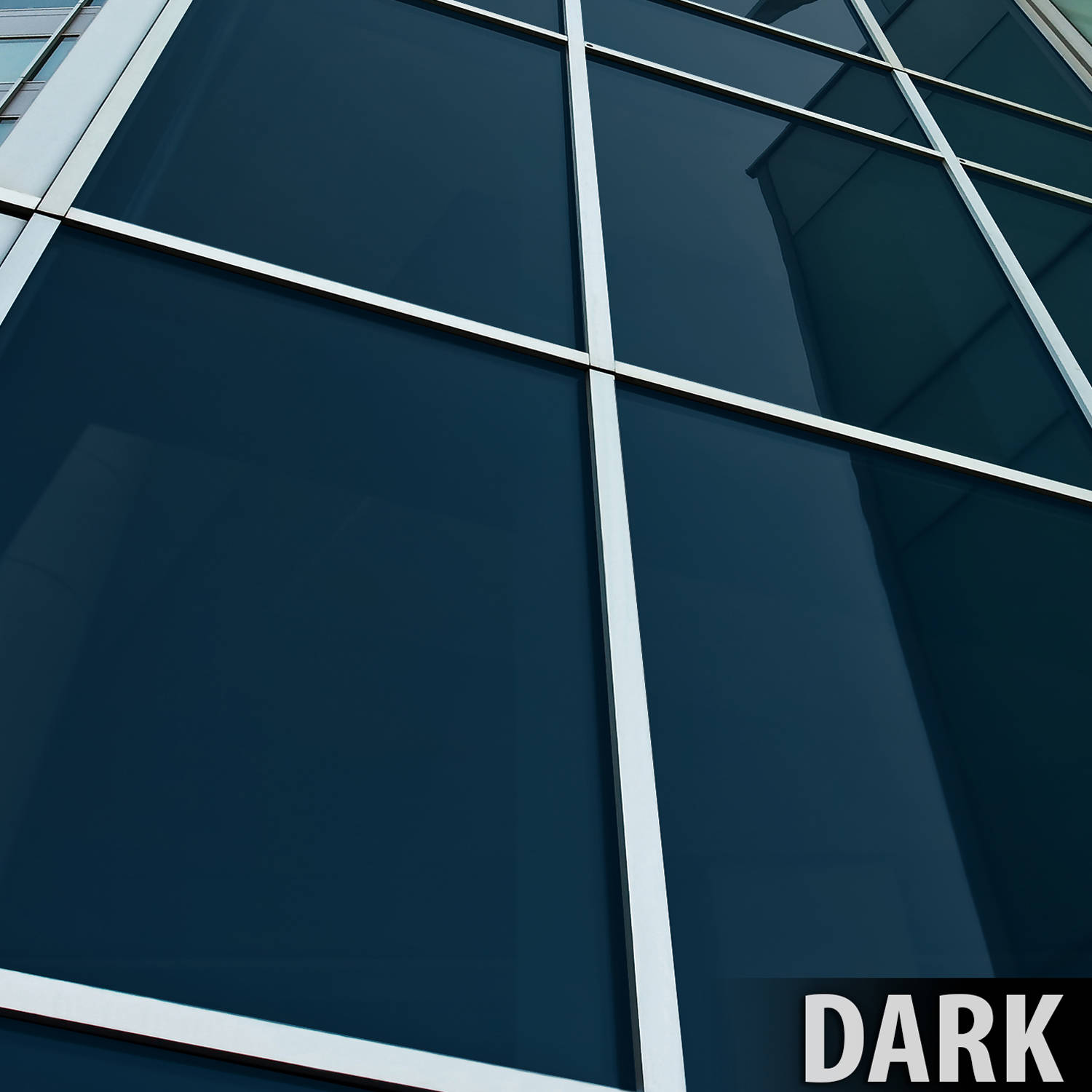 BDF PRGY Premium Heat Control and Daytime Privacy Grey Window Film 24in X 24ft by BuyDecorativeFilm