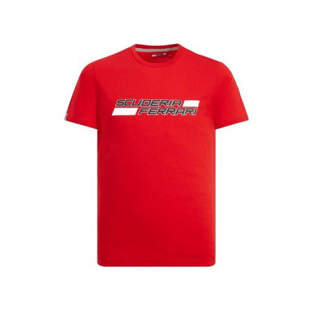 Scuderia Ferrari Men's 2019 F1 Red Logo T-Shirt (L) ()