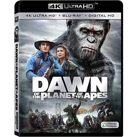 Dawn of the Planet of the Apes (4K Ultra HD + (Dawn Of The Planet Of The Apes Toys)