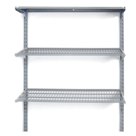 Triton Storability 33W x 31.5H in. Wall Mount Shelving Unit