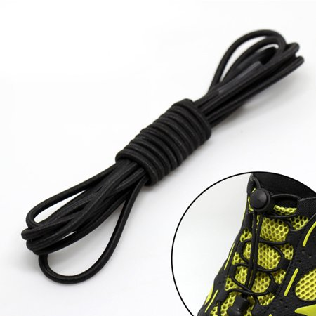 Lace Lock Shoe Charm - Lock Laces No Tie Elastic Shoelaces for Kids & Adults - Stretch Shoe Laces for Sneakers