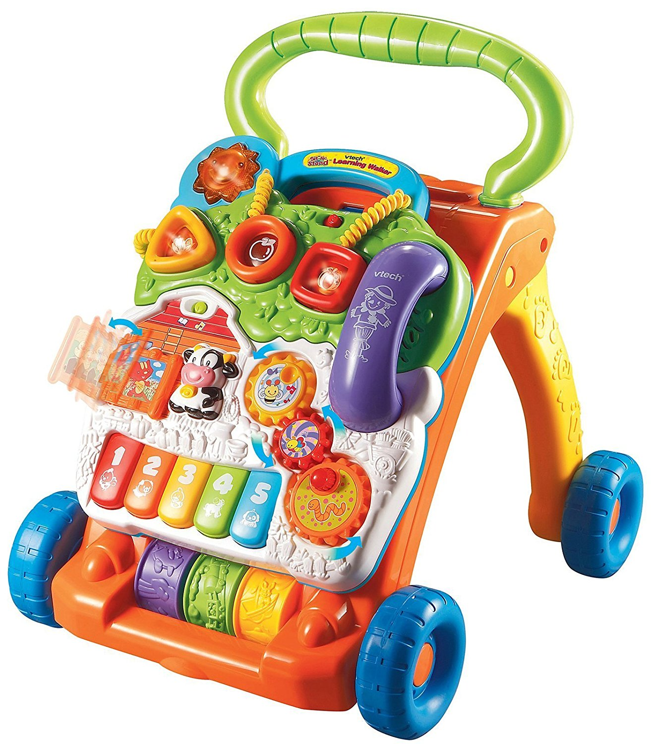 Sit-to-Stand Learning Walker, VTech Sit-to-Stand Learning Walker By VTech From USA by VTech