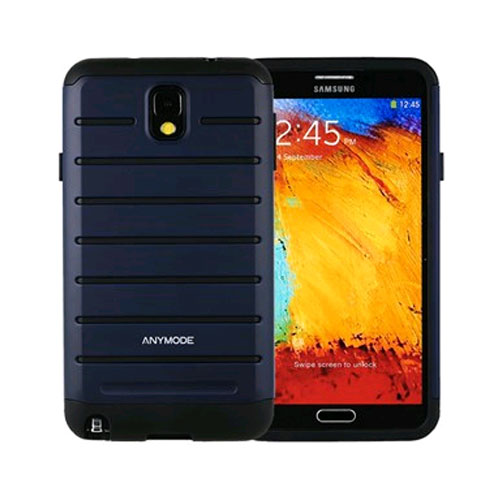 Anymode Rugged Case for Samsung Galaxy Note 3 - Blue