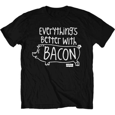 Hormel Foods Better With Bacon Adult T Shirt Tee