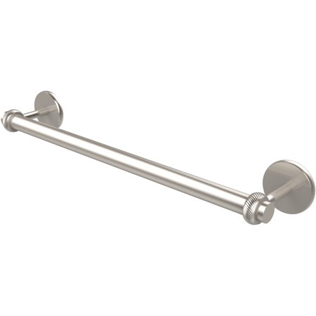 Satellite Orbit Two Collection 24 Towel Bar with Twist Detail Build t