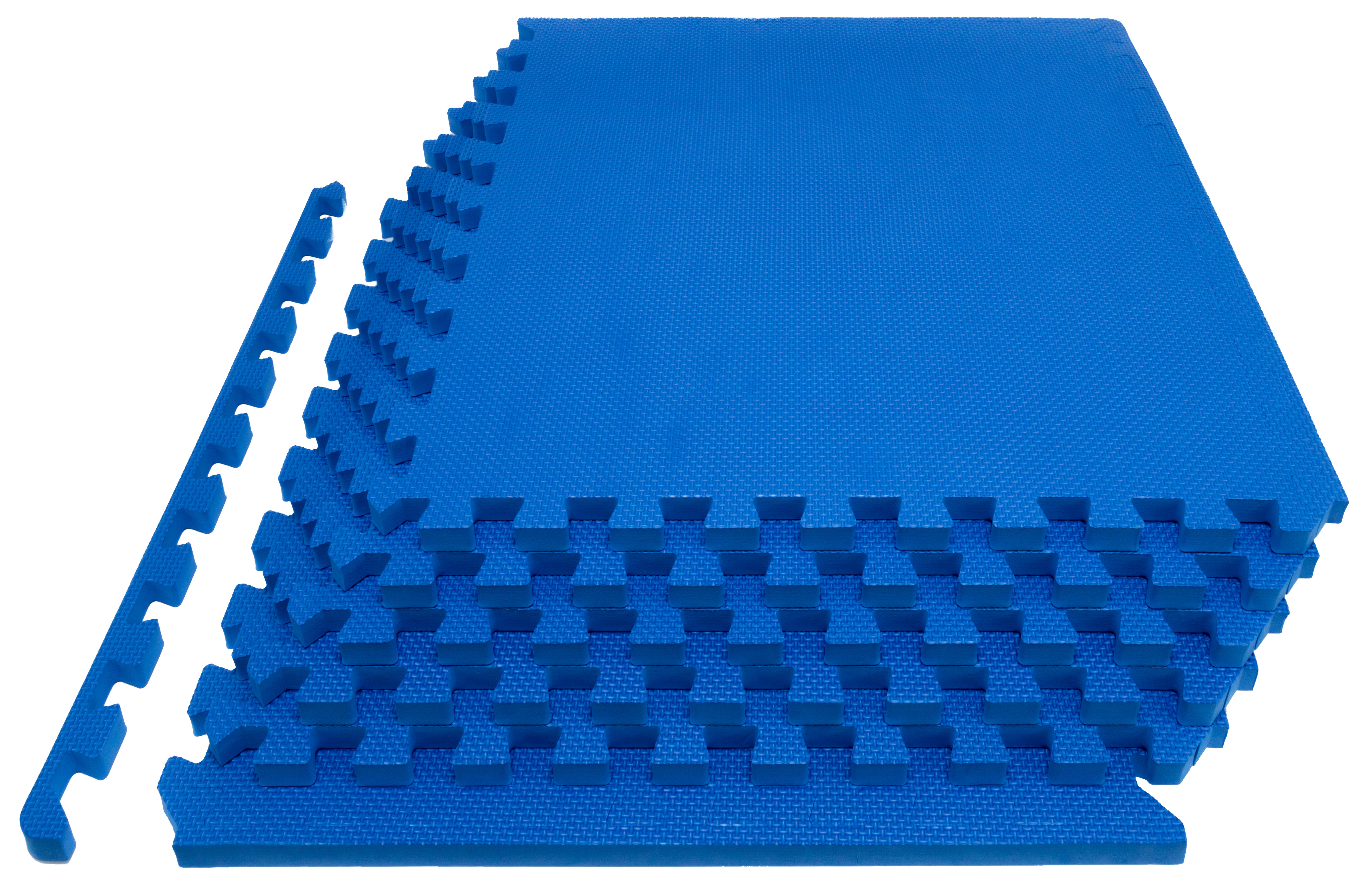 ProSource Extra Thick Puzzle Exercise Mat 3 4 Inch, EVA Foam Interlocking Tiles for Protective, Cushioned Workout... by ProSource