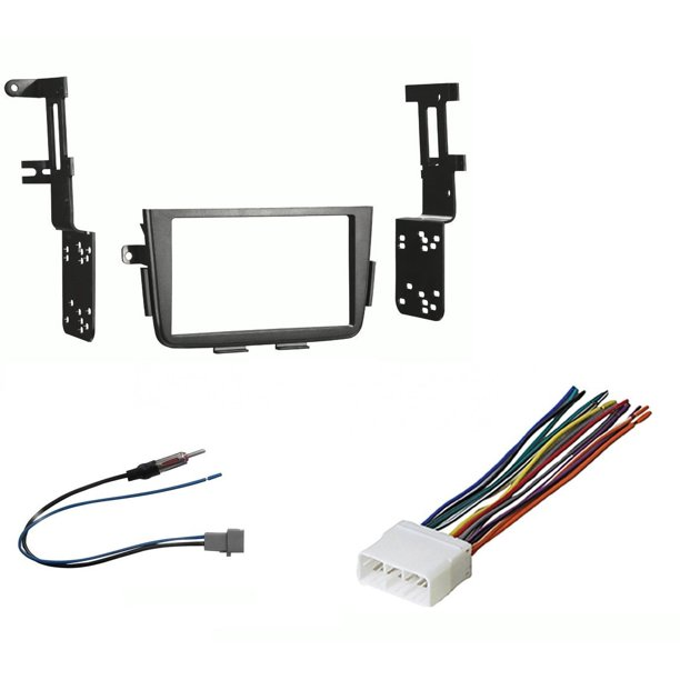 CAR STEREO DOUBLE/D/2-DIN RADIO INSTALL DASH KIT FOR MDX With Wiring Harness  And Antenna Adapter - Walmart.com - Walmart.comWalmart
