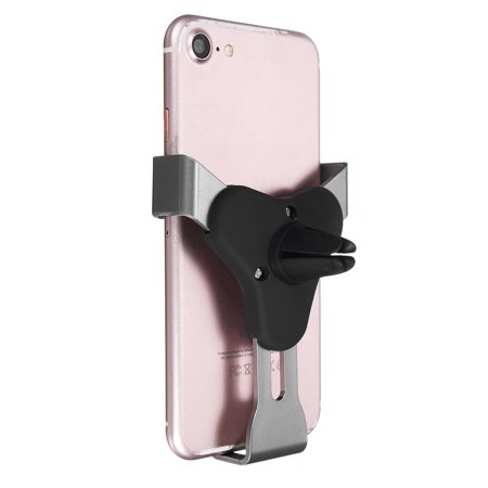 Universal Auto-Clamping Gravity Car Air Vent Holder Phone Mount Cradle for iPhone XS Max/XS/XR/X, 8 Plus/8, 6S 7 Plus/7 for Samsung Galaxy Note 8 S10/S9/S8/S8 Plus S7 Edge - image 6 de 8