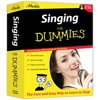 eMedia Singing For Dummies Level 1 The singing lessons start with basics such as proper posture, breathing and how to sing in time and in tune. Further voice lessons cover how to enhance vocal tone, project your voice, increase your range, improve diction and develop skills such as vocal agility, expression, ear-training and sight-reading. eMedia's Interactive Feedback technology actually listens as you sing and shows you whether you are too high, too low, or right in tune! Over 80 great songs are included with recordings for all vocal ranges and include hits from Diana Ross and John Lennon. These lessons are an incredible value, as private voice lessons frm an instructor of this quality would cost many times more than the cost of eMedia Singing Method.