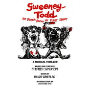 Applause Libretto Library: Sweeney Todd: The Demon Barber of Fleet Street (Paperback)