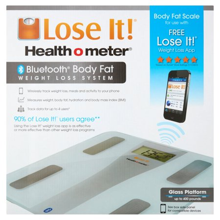 Health O Meter Lose It  Body Fat Scale Weight Loss System