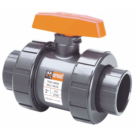 Hayward 2-Piece Ball Valve, PVC, TB1200ST