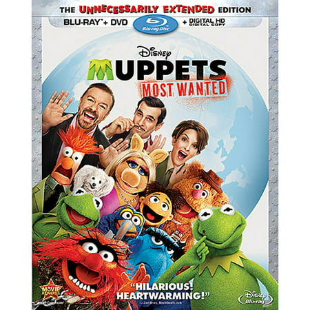 Muppets Most Wanted (The Unnecessarily Extended Edition) (Blu-ray + DVD + Digital HD)](Halloween 1978 Extended Edition)