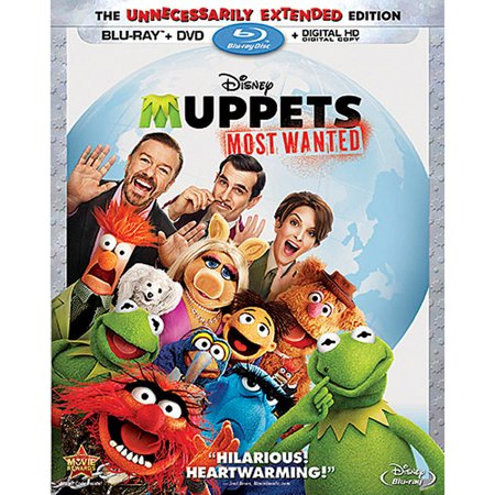 Muppets Most Wanted (The Unnecessarily Extended Edition) (Blu-ray + DVD + Digital HD)](Muppets Halloween Dvd)