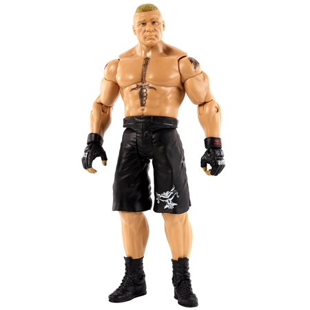 WWE Basic Brock Lesnar Figure, Kids can recreate their favorite matches with this approximately 6-inch figure created in Superstar scale By