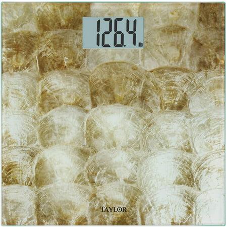 Taylor 7560Cs Caprishell Glass Digital Scale