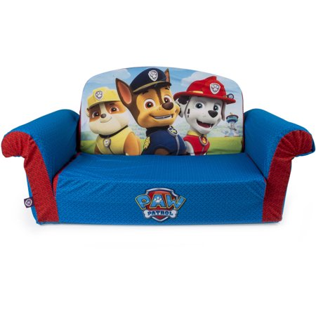 Marshmallow Furniture 2-in-1 Paw Patrol Flip Open Sofa ...