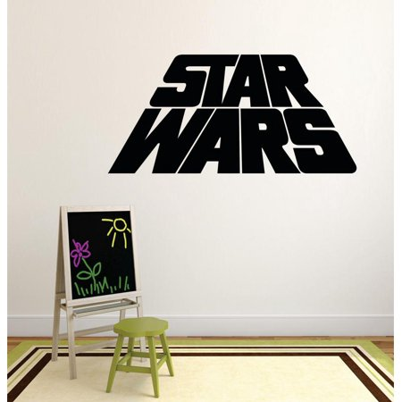 Star Wars Logo Series Characters Children Kids Design Boy Girl Silhouette Custom Wall Decal Vinyl Sticker 12 Inches X 12 Inches