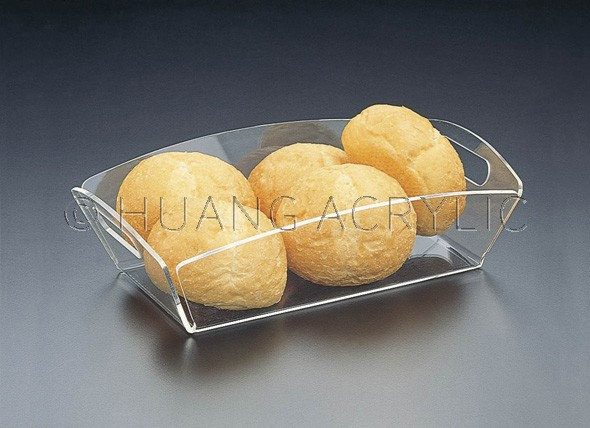 Acrylic Bread Basket by