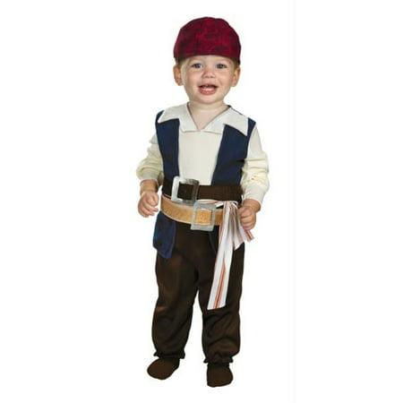 MorrisCostumes DG29828W Jack Sparrow 12-18 Month