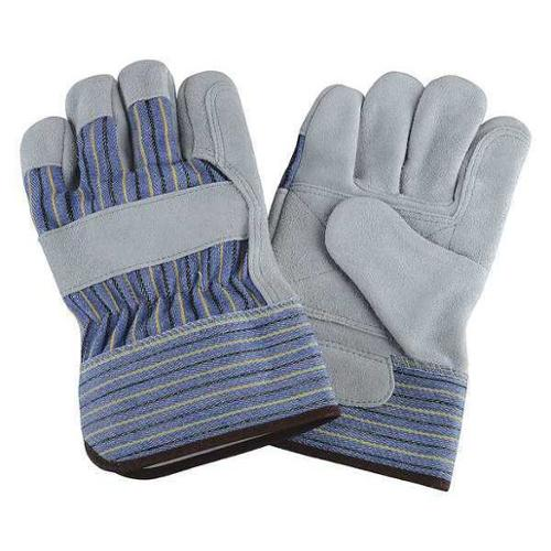 Condor 2MDD6 XL Blue/Green/Gray Leather Palm Gloves