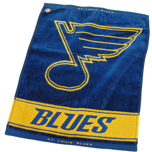 Team Golf NHL St Louis Blues Jacquard Woven Golf Towel