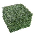 "12-Pack Yescom 20"" X 20"" Artificial Boxwood Hedge Mat"
