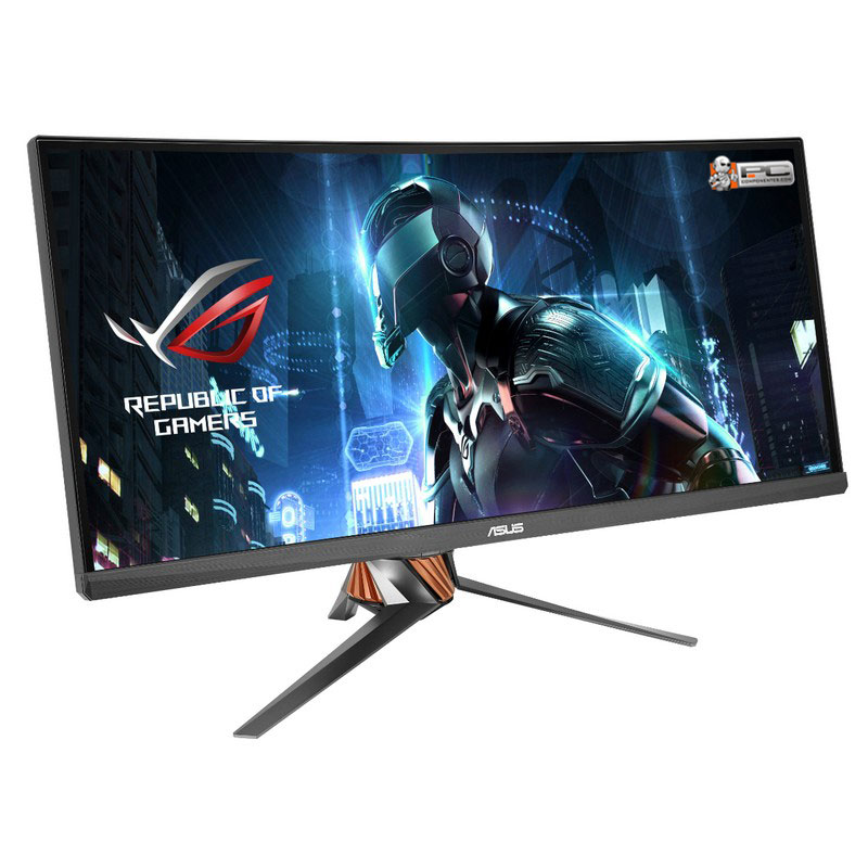 """Refurbished - ASUS SWIFT Curved PG348Q 34"""" G-Sync Gaming Monitor 21:9 Ultra-wide QHD 3440x1440"""