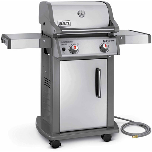 Weber Spirit S-210 Natural Gas Grill, Stainless Steel