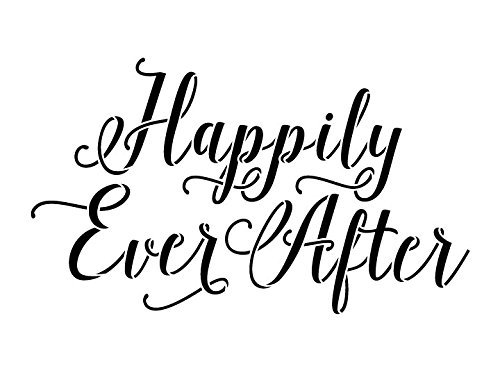 """Happily Ever After Stencil by StudioR12 