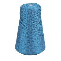 Trait Tex Acrylic 4-Ply Double-Weight Yarn Refill Cone, 315 yd Dispenser Box, Blue, 8 oz Cone