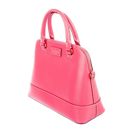Kate Spade Wellesley Small Rahelle Flamingo Pink Satchel Handbag